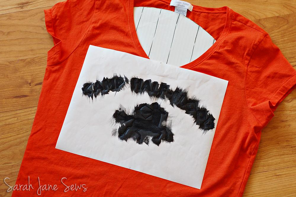 Herons Crafts Percy Jackson Camp Half Blood Tee By Sarah Jane Sews
