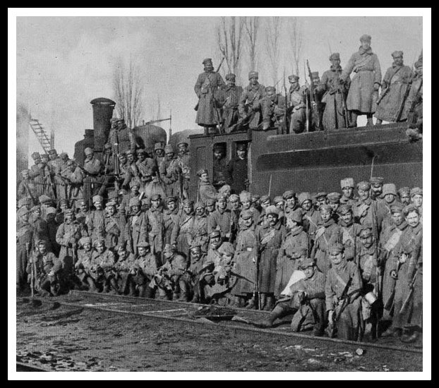 legión checoslovaca, guerra civil rusa, tren transsiberiano