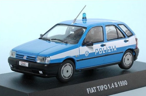 Italian Job Police Rally Art Car