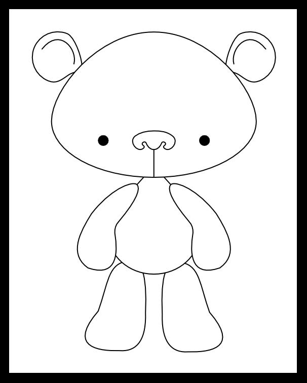 Imaginesque Little Bear Pattern And Print