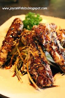 unagi tempura special delicious
