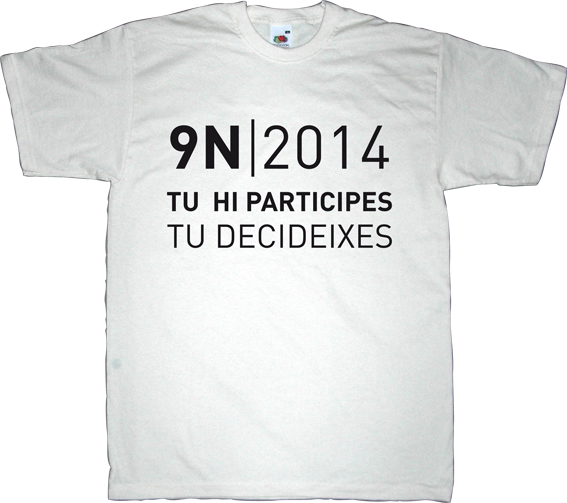 independence freedom referendum catalonia 9n countdown t-shirt ephemeral-t-shirts
