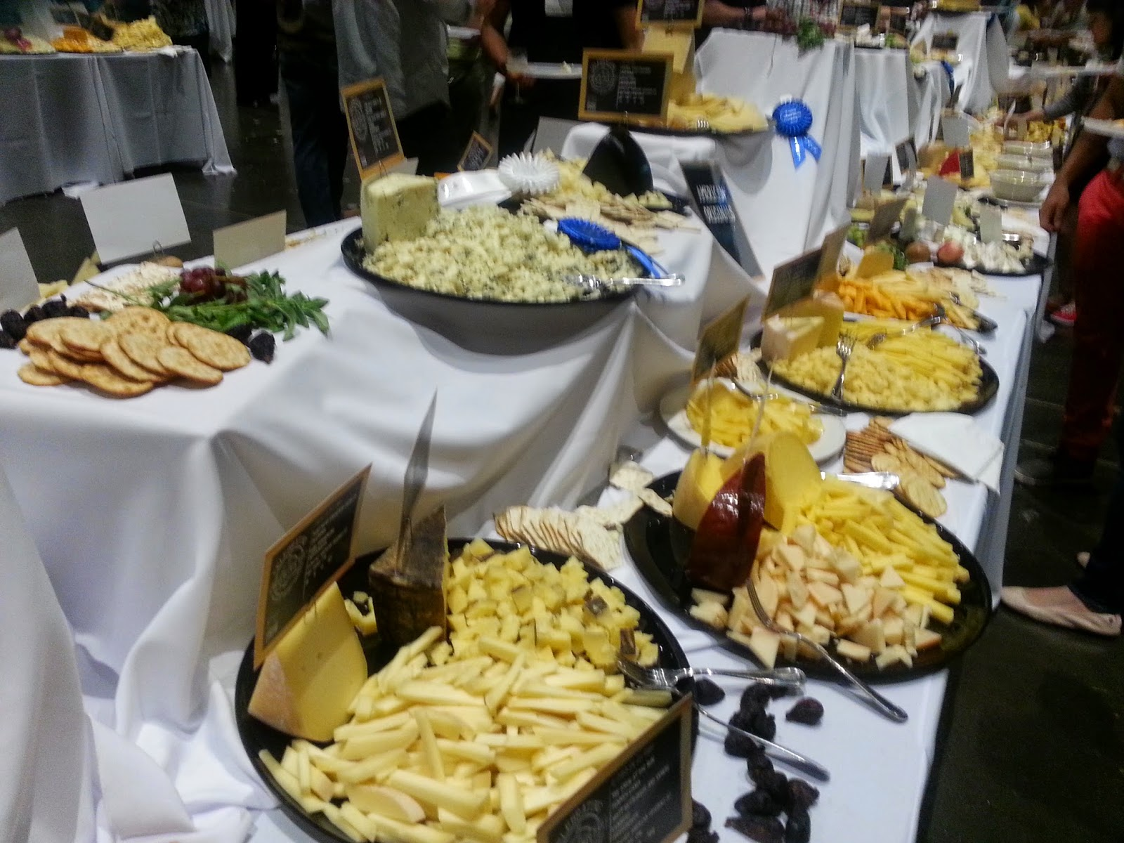 Volunteering at the American Cheese Society Conference