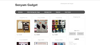 screen shoot blog senyum gadget