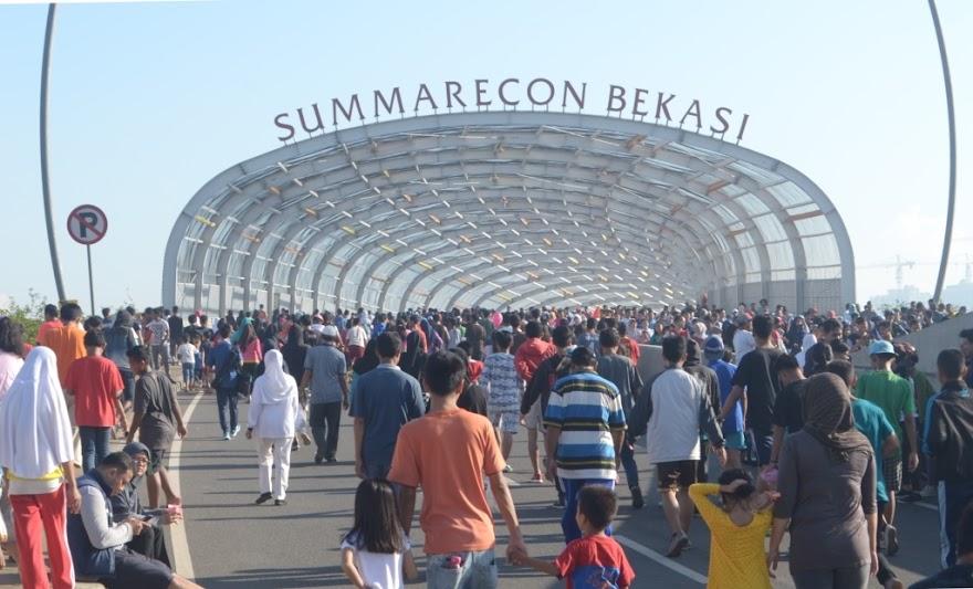Fly over K. H Noer Ali Sumarecon Bekasi