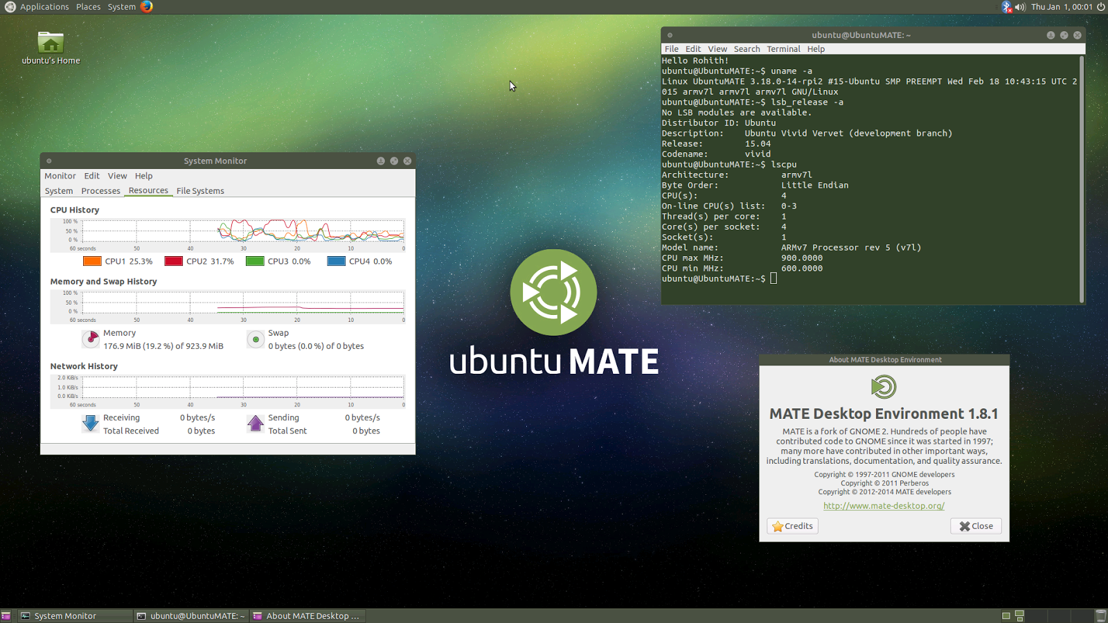 Podremos instalar Ubuntu 15.04 en la Raspberry Pi 2 B, ubuntu mate 15.04 raspberry pi