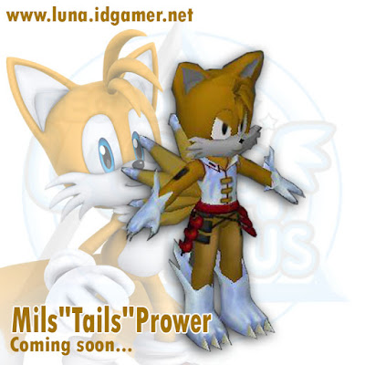 Mils Tails Decade luna plus Private server