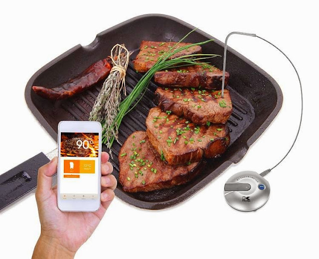 Kalorik Wireless Bluetooth Food Temperature Meter
