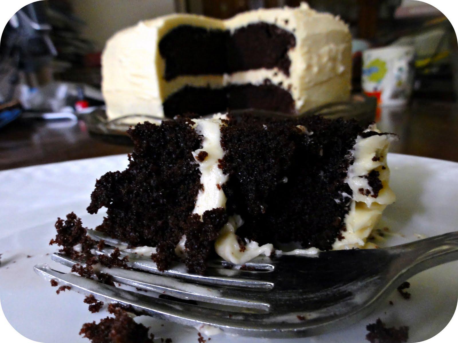 ... Guinness Cake with Bailey's Buttercream aka My Birthday Cake