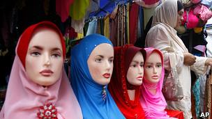 Мусульманские женские головные платки