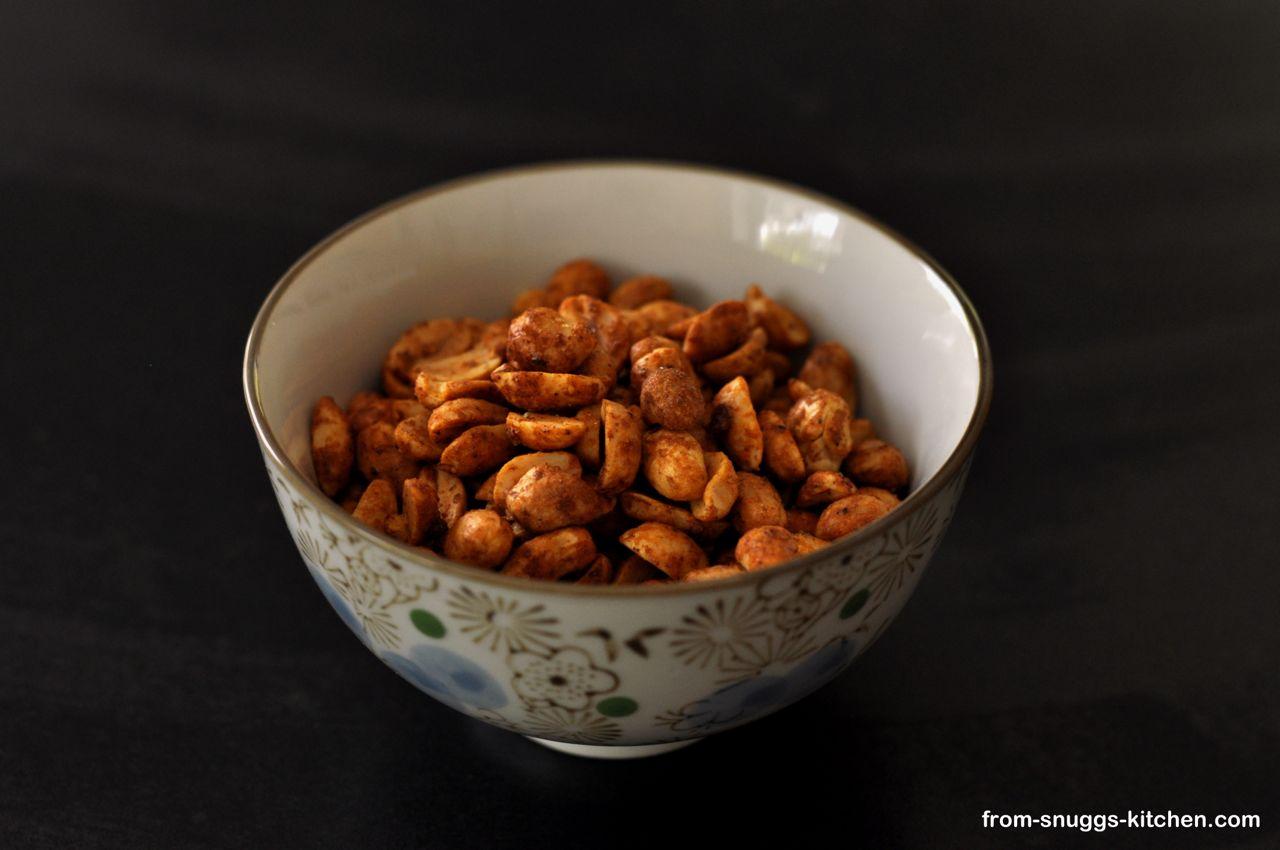 in Limette geröstete Erdnüsse