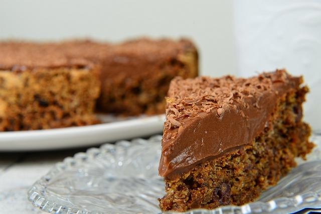 Ciasto czekoladowe z figami i żurawiną