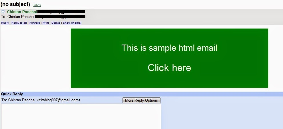 How To Send An Html Email With Gmail