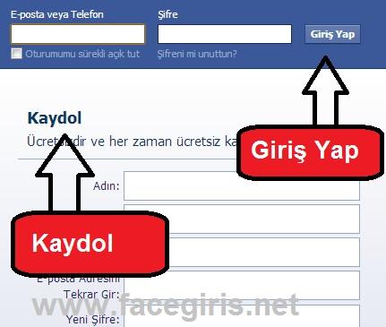 Facebook Giriş Yap ve Kaydol « Facebook Giriş - Facebook'a Kaydol