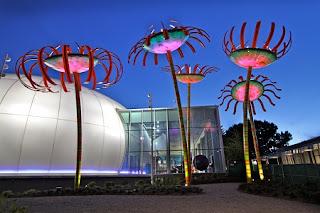 Artistica Instalación Solar por Dan Corson