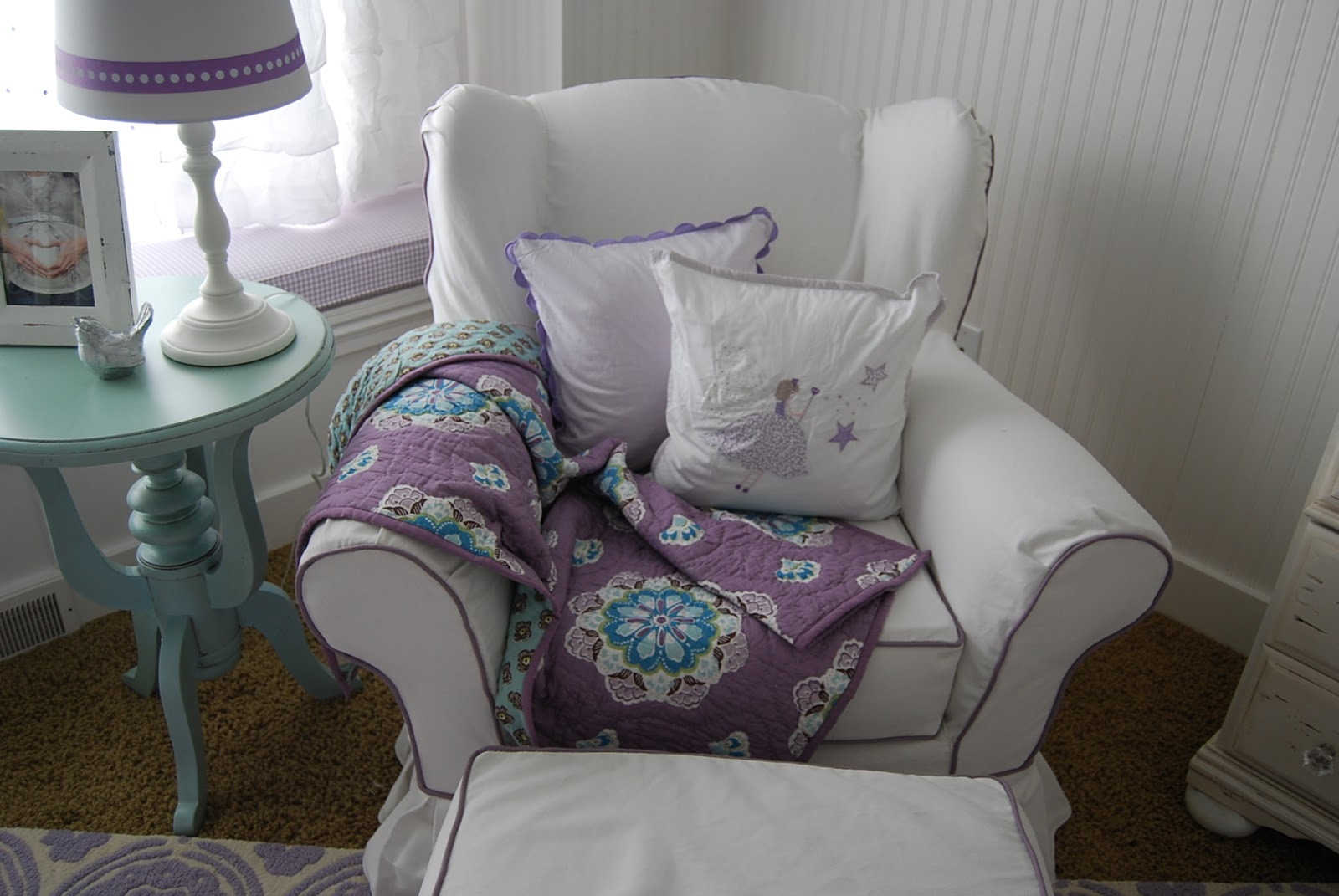 Home By Heidi: Baby Girl Nursery Reveal