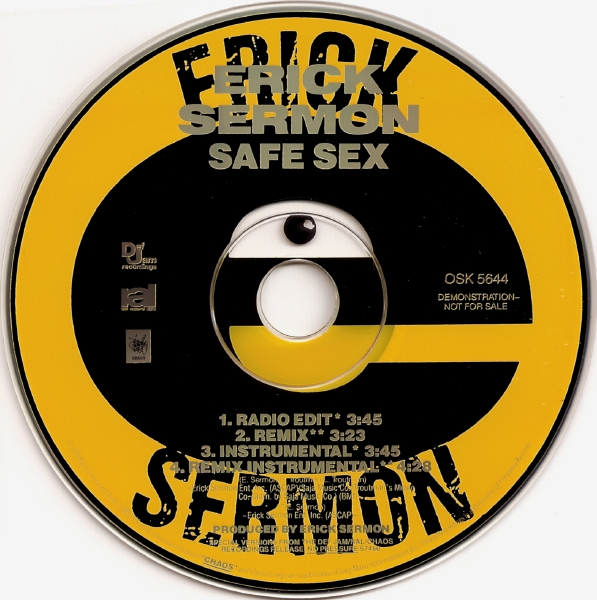 Erick Sermon – Safe Sex (CDM) (1994) (192 kbps)