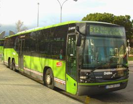 Autobuses Blasa (De Blas y Cía, S. L.), uniendo Madrid con Alcorón, Móstoles...