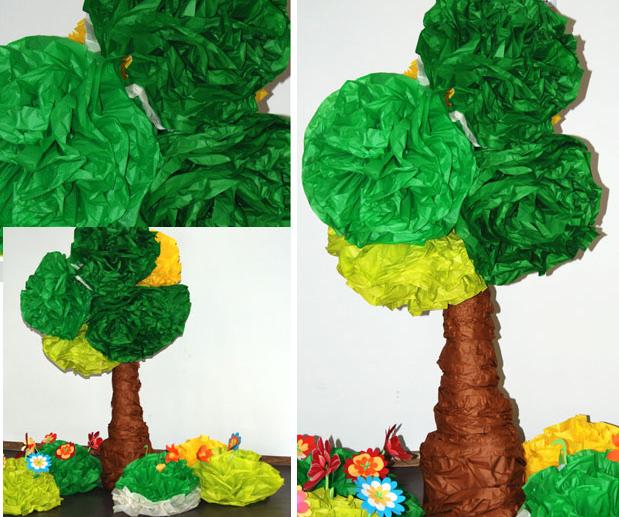 Preferência Eu Amo Artesanato: Árvore de papel QZ96