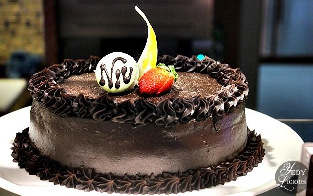 Chocolate Cake at NIU by Vikings Buffet