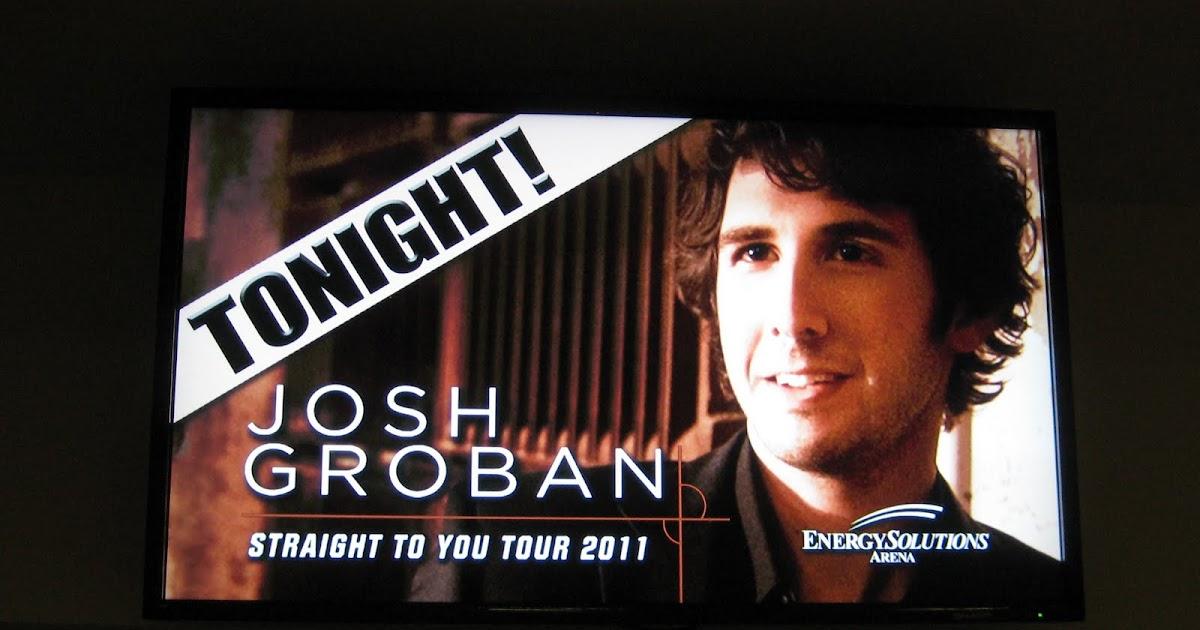 Life of Tracy: Josh Groban Concert