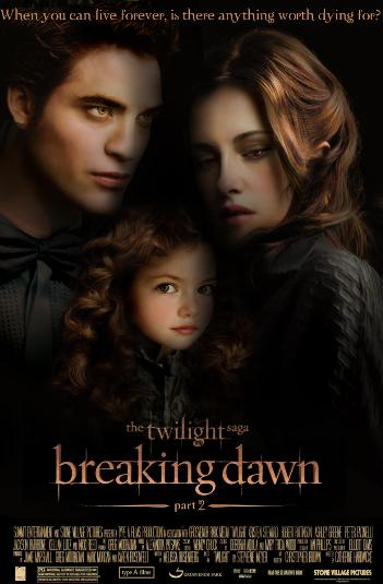 Twilight Saga Breaking Dawn Part 2 Poster