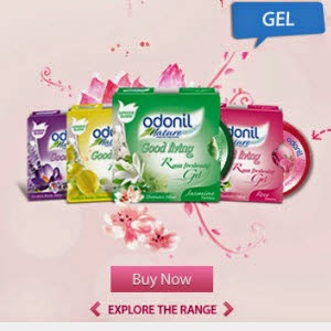 Free Dabur Odonil Nature Good Living Room Freshening Gel Sample