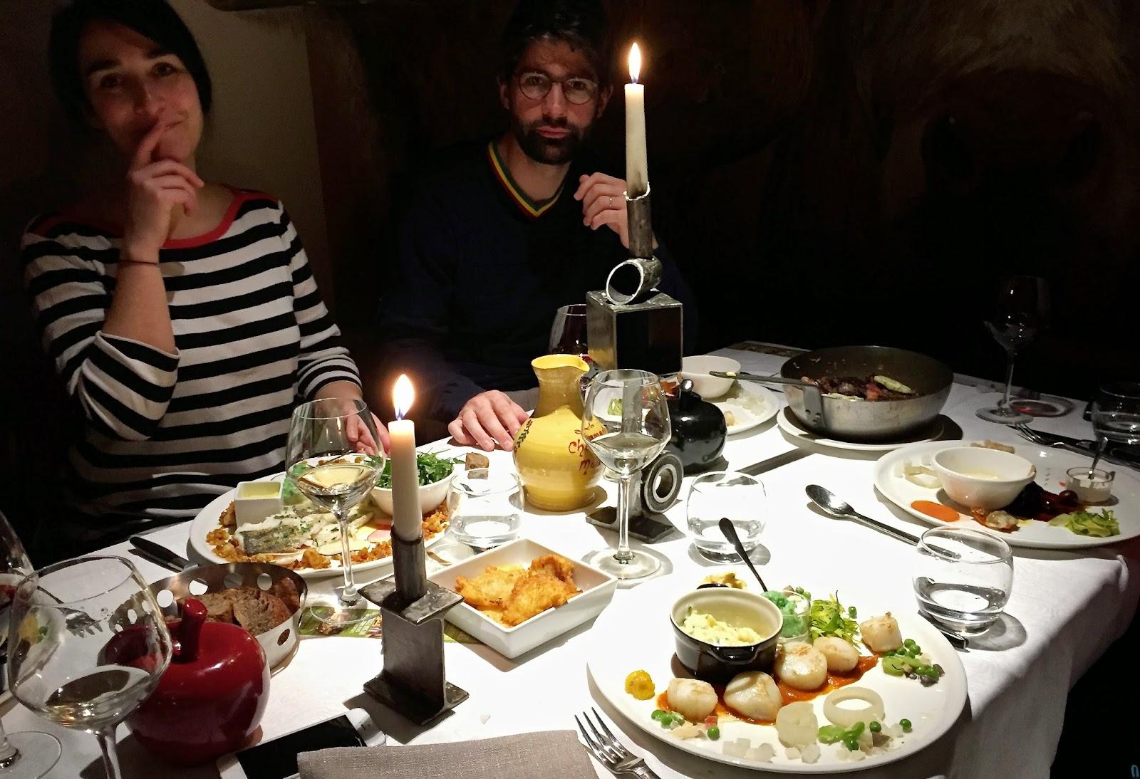 dinner Morzine après ski manger comer bien avis opinion advise La chamade