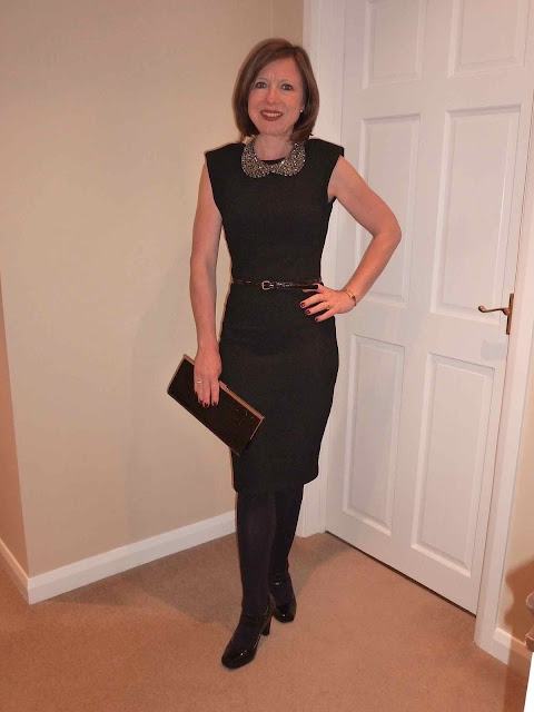 Claire+LBD4 Working Your LBD & Some Fab Neck Candy