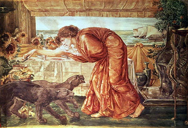 odysseus circe burne-jones
