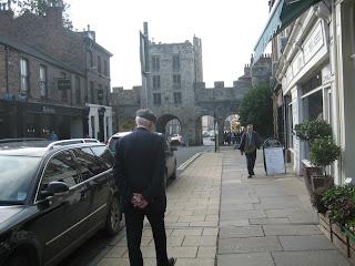 York, entrata da una delle porte della città antica