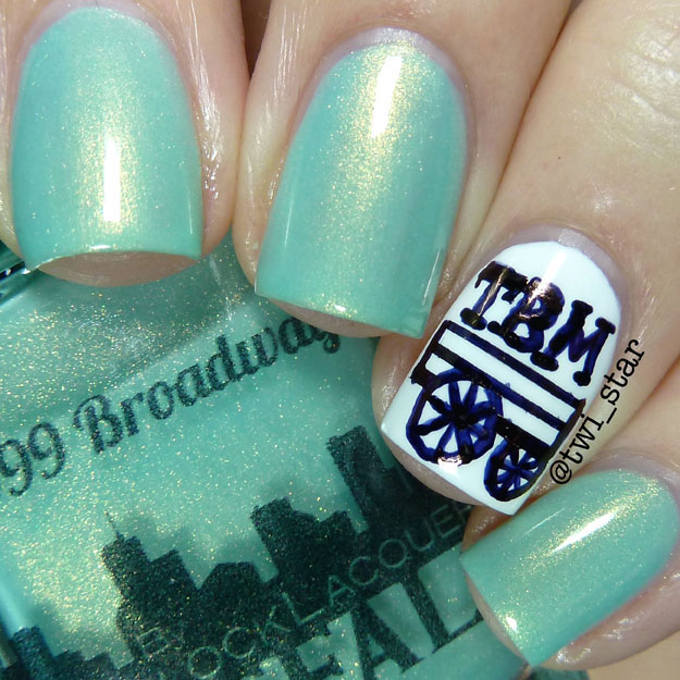 Gridlock Lacquer Spring Easter 2015 Collection 999 Broadway