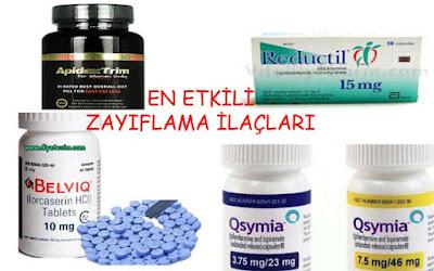 zayıflama ilaçları