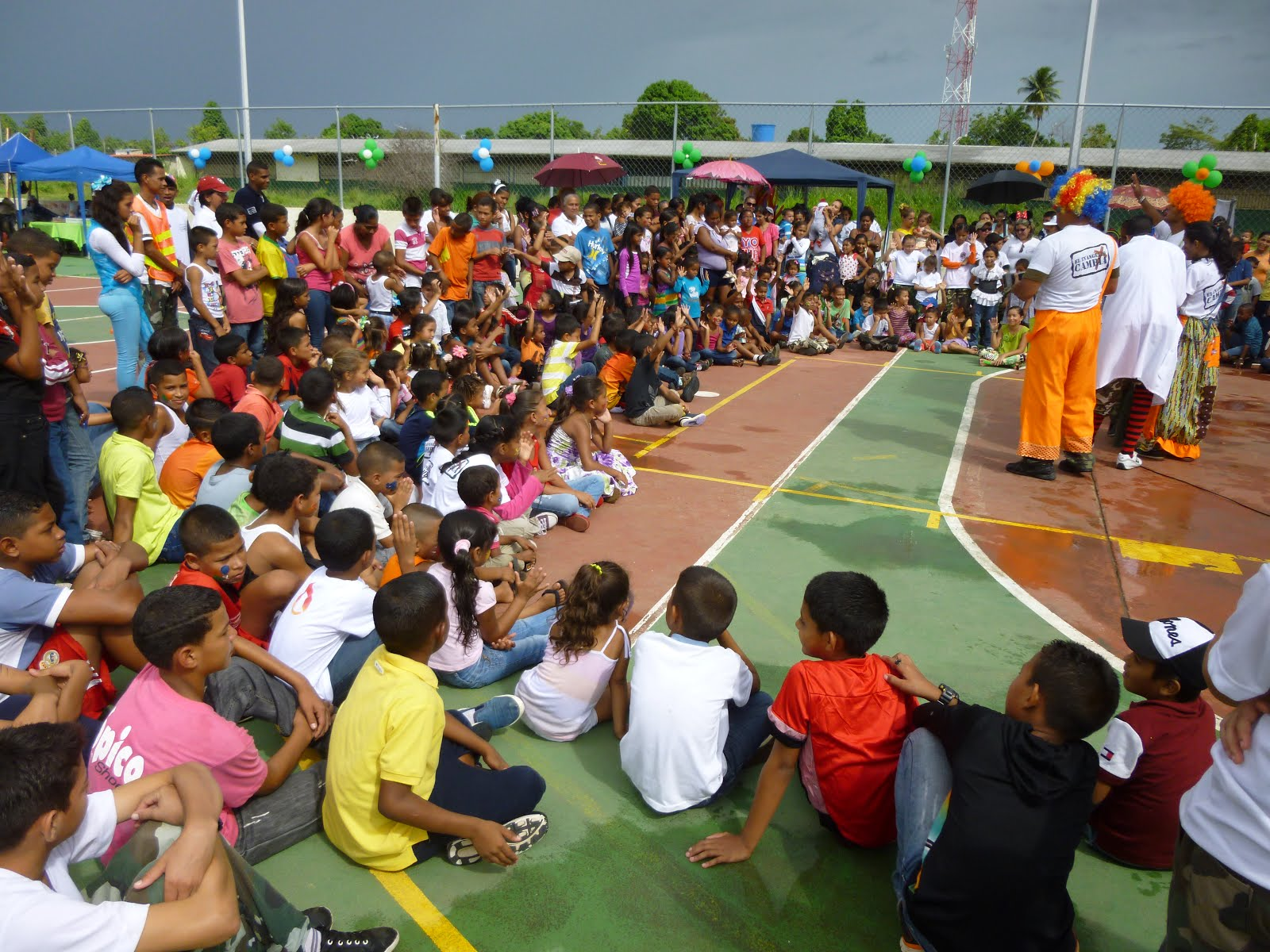 Celebración del Dia del Niño 2014 comunidad 25 de Marzo en San Félix