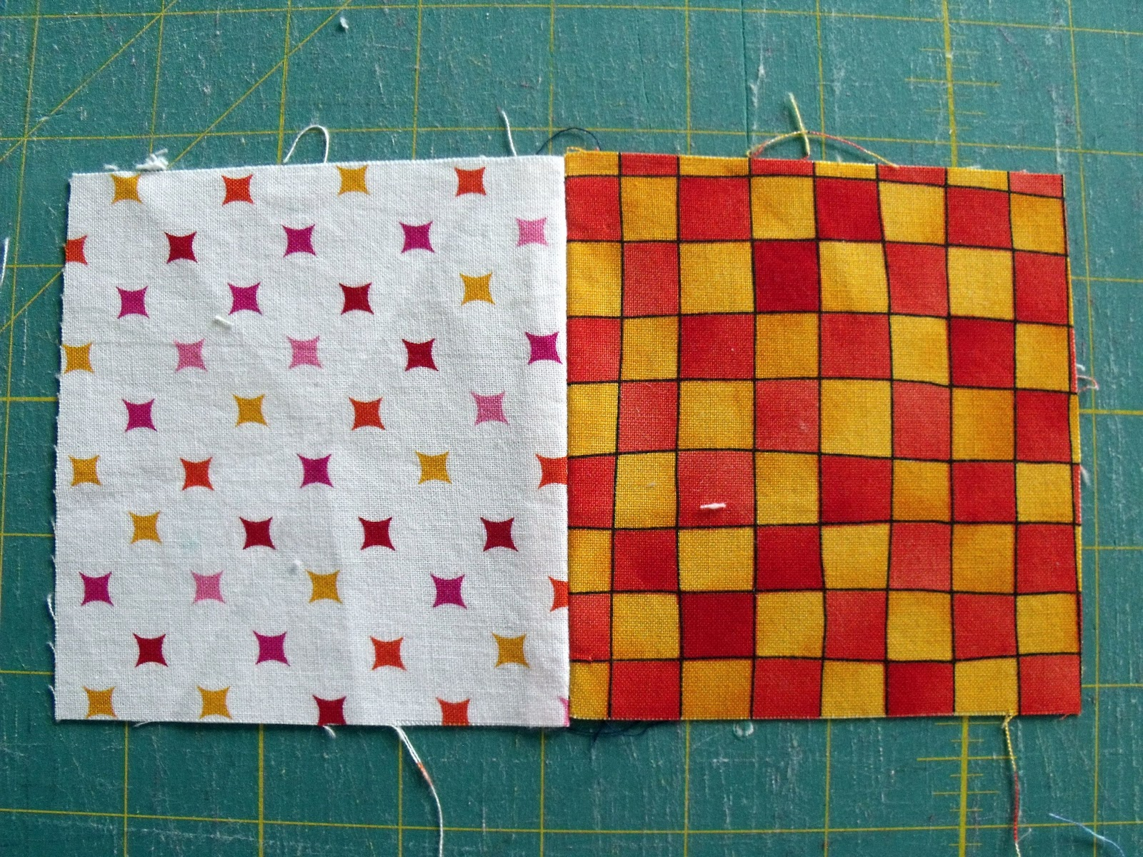 Quilting Along the Grain: Beginners Patchwork - How to Piece