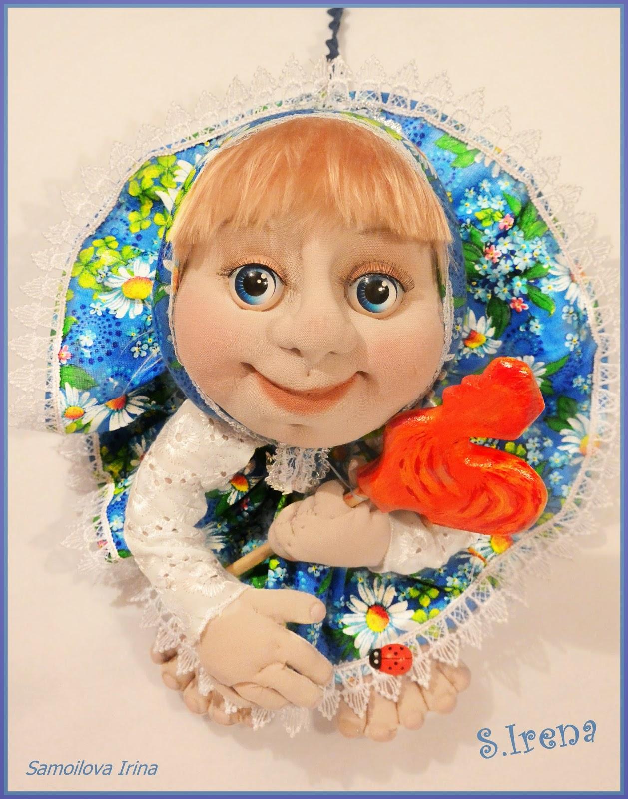 кукла попик МАША