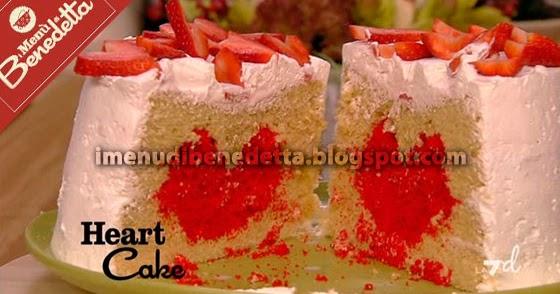 Dalila Cake Design Ricette : Heart Cake la ricetta di Benedetta Parodi