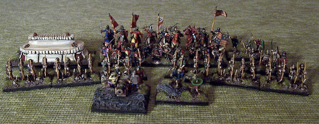 IV/62 Hunderd Years War English DBA Army