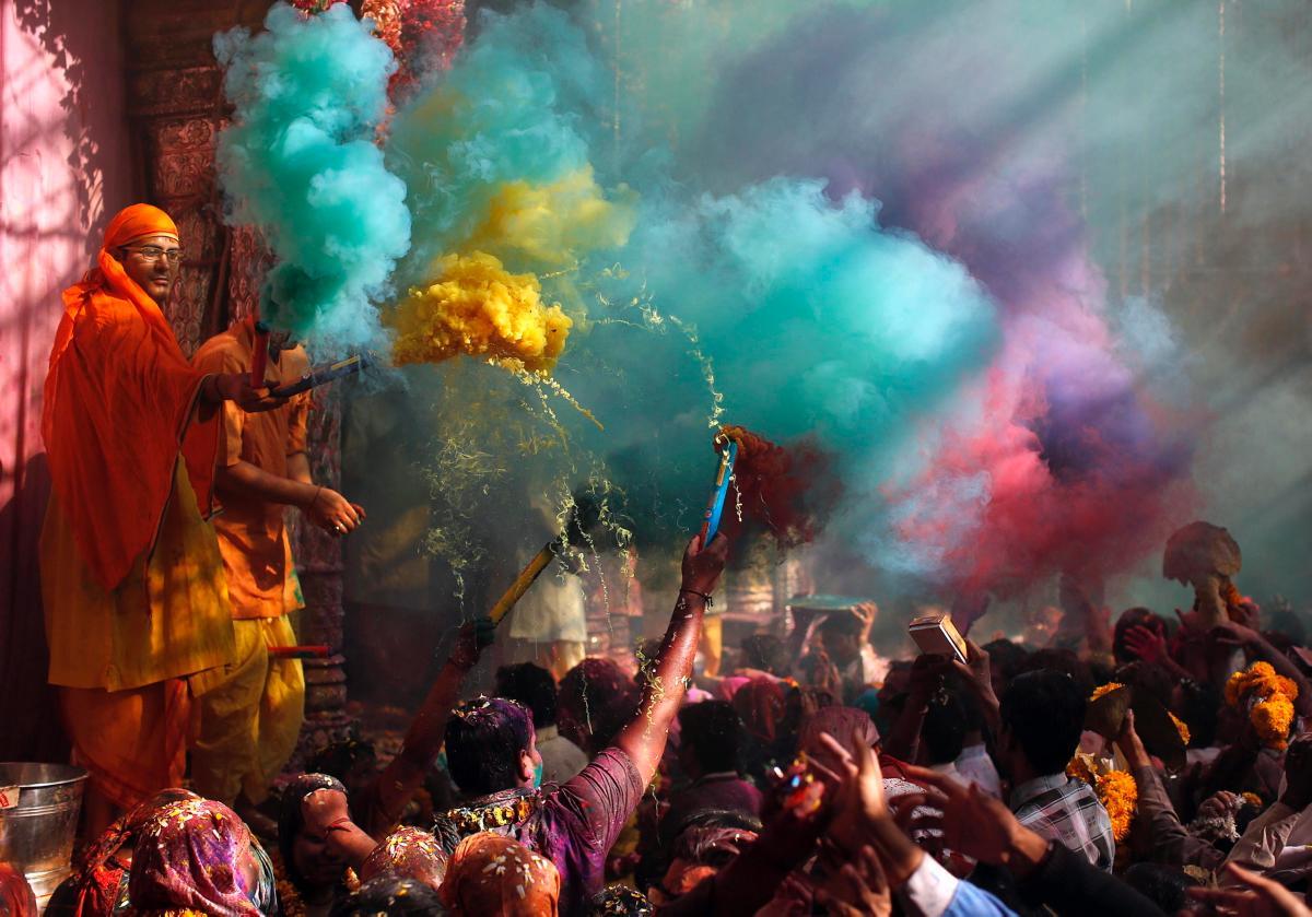 Święto Kolorów czyli Holi w Indiach