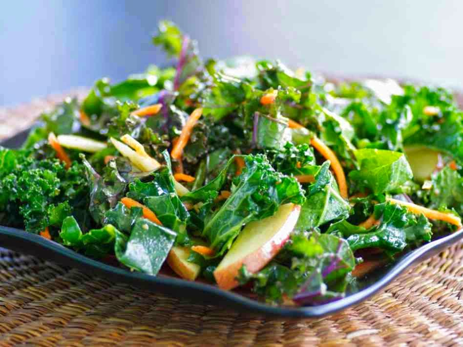 Salad with Raw Wild Greens, Mediterranean Diet, The Cretan Diet,
