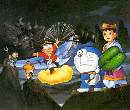 Doraemon The Movie (1988)- Perjalanan Ke Barat