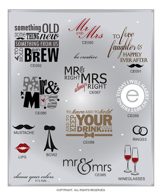 Image Wedding Vinyl Decal