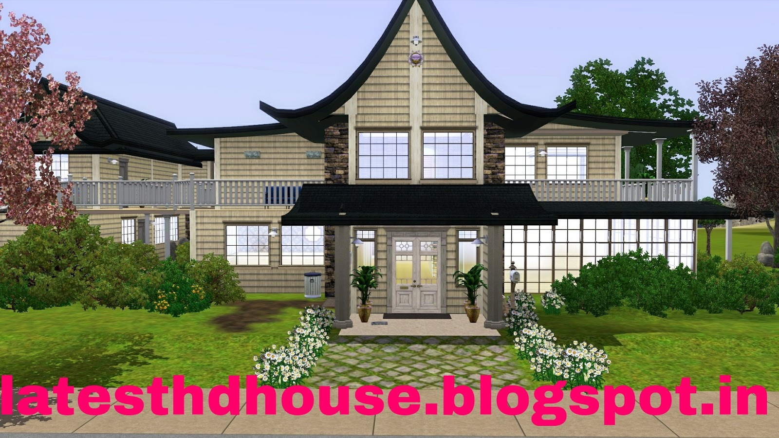 All hd wallpaper house full hd wallpaper new for Wallpaper with houses on