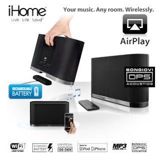 AirPlay-Lautsprecher iHome iW1 bei iBood für 205,90 Euro inklusive Versandkosten