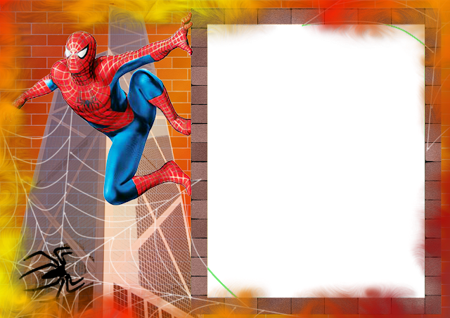 Foto Moldura Gratis Homem Aranha | Real Madrid Wallpapers