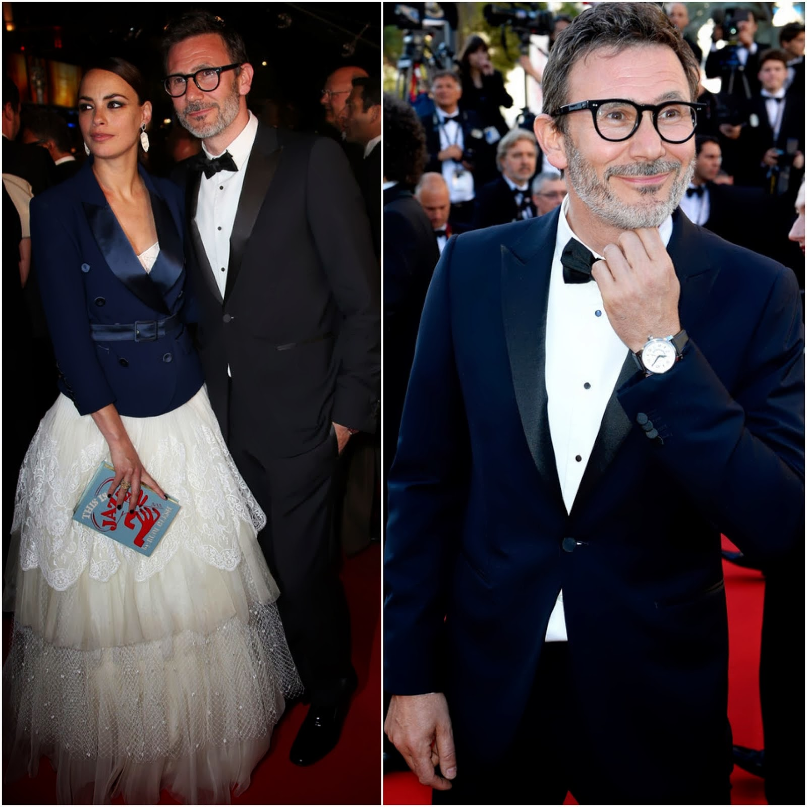 00O00 Menswear Blog: Director Michel Hazanavicius's Montblanc TimeWalker Northern Hemisphere timepiece - Cannes Film Festival 2013