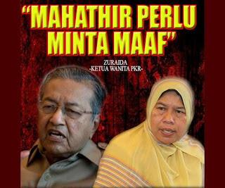 Maruah Mahathir Hancur Jika Minta Maaf Pada Anwar