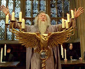 Professor Dumbledore in the Harry Potter Series