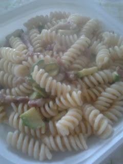 eliche con zucchine e pancetta