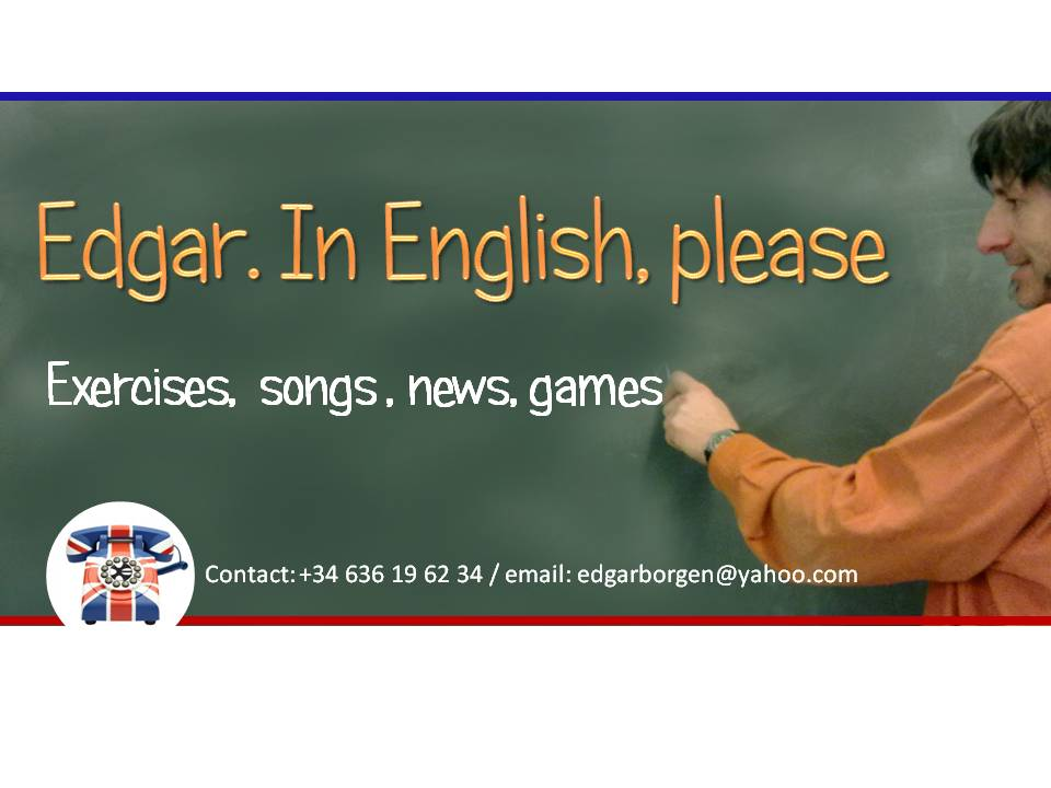 Edgar.In English, please.